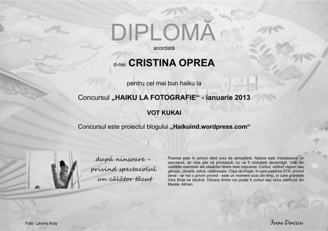 diploma OPREA complet