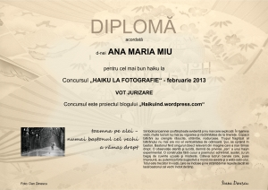 DIPLOMA FEBRUARIE 2013 JURIZARE A.M.MIU