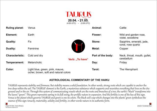 Taurus Comment. EN
